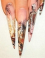 Курс по дизайну ногтей акриловыми красками