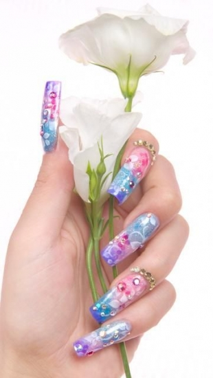 акриловые ногти
