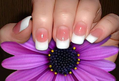 French Manicure Pictures.